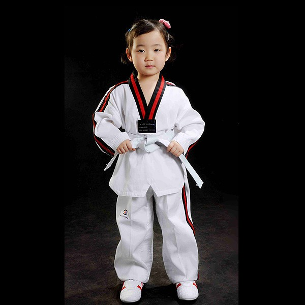 how to wear taekwondo uniform