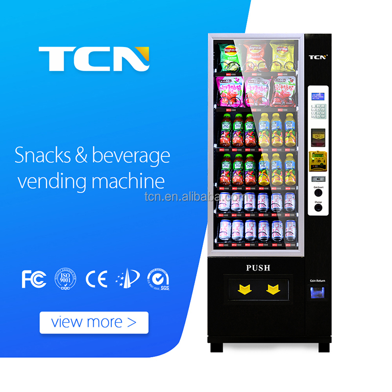 2017 TCN Hot sell mini automatic snack drink vending machine