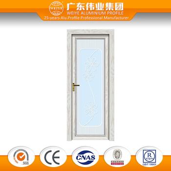 Waterproof Glass Aluminum Bathroom Swing Door Buy Waterproof