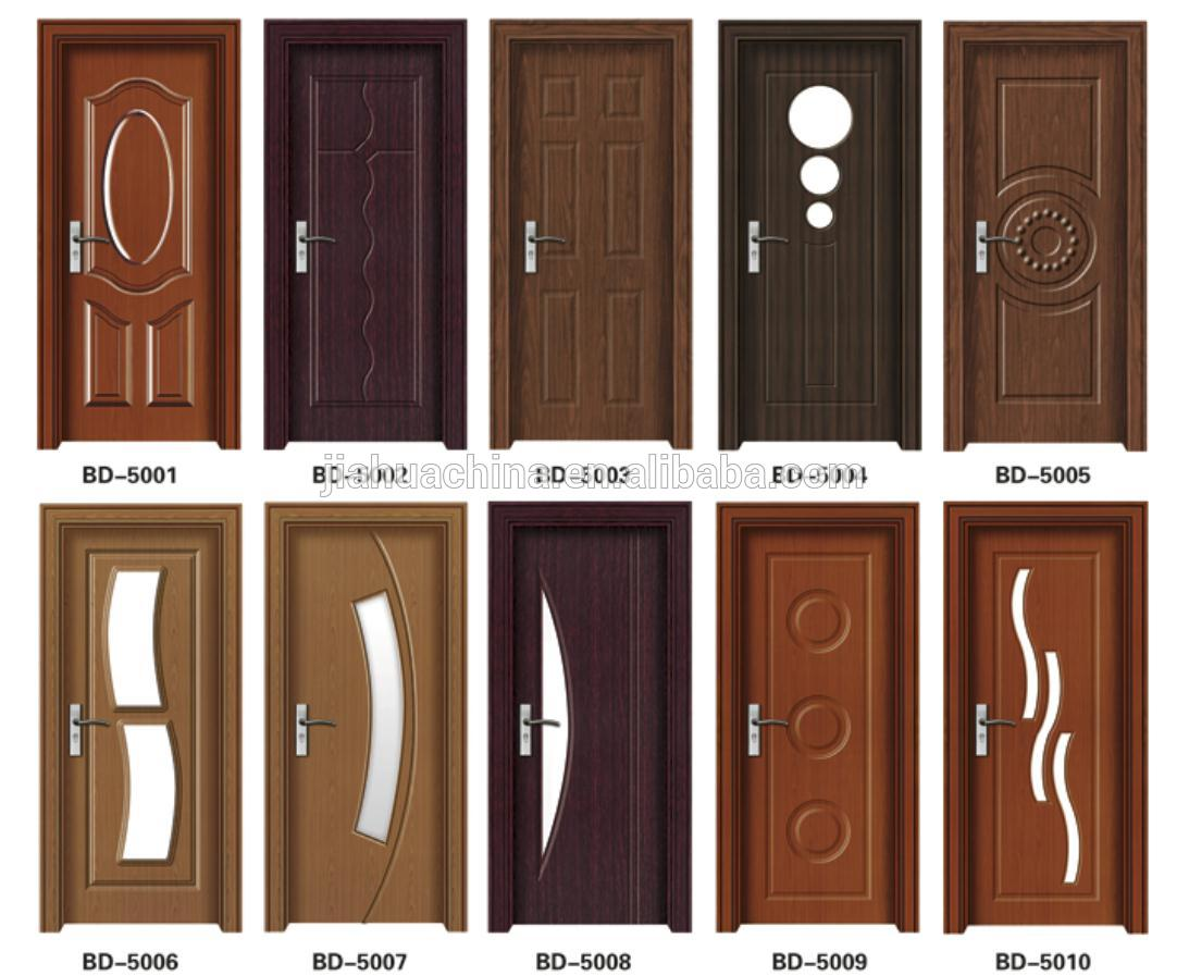 New trends anti theft teak wood main door design buy for Modern wooden main door design