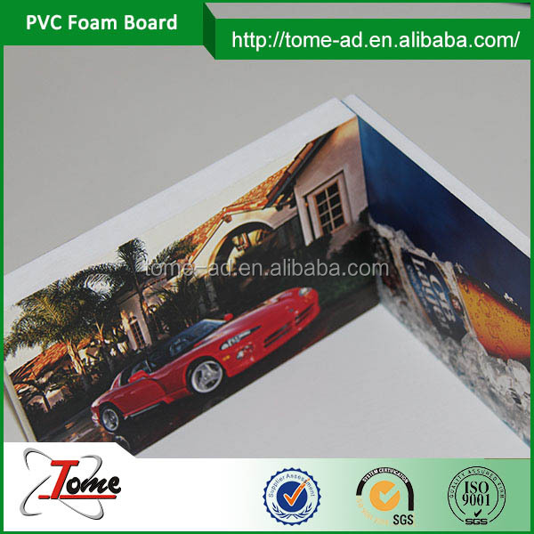 uv print pvc foam board die cut panel