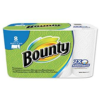 Procter & Gamble Select-a-Size Perforated Roll Towels, 2-Ply, White, 6 x 11, 70 Towels/Roll (8/PK) - BMC-PGC 88187