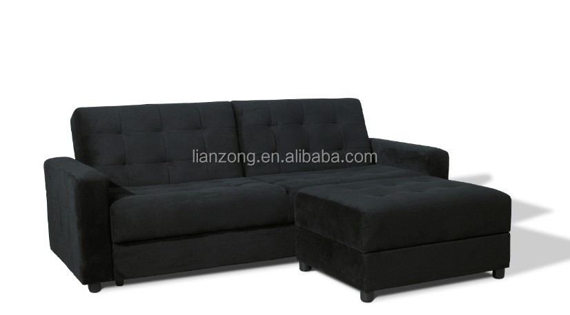 Modern living room storage box corner sofa bed wholesale