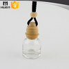 clear perfume filling car vent empty car air freshener bottle for people