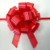 pull bow in metallic shinny color/pompom ribbon bow for gift packaging