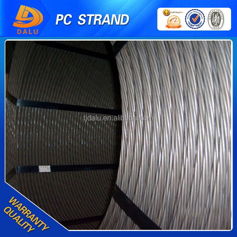 5 production line open fire on 15.2mm, 12.7mm, 9.53mm pc steel strand wire