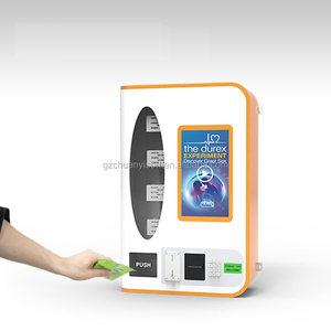 Coin and Bill Validator Operated Box and Small Items Vending Machine