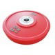 Hightech sol-gel rubber competition bumper plate /Pro 75kg barbell set for World Weightlifting Championships