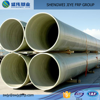 China Factory Hotsale Extruded Glassfiber Pipe,Grp Pipe,Plastic Frp Pipe