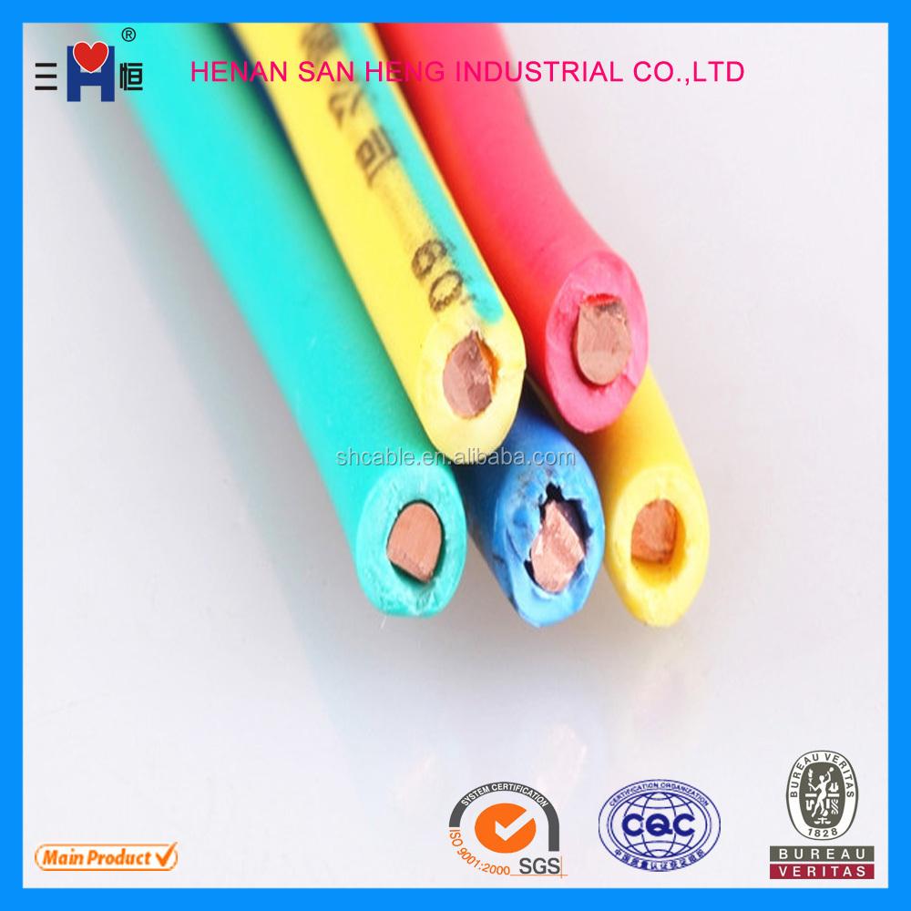 Bv2.5 Square,Electric Cable,Zr-bvv,,Plastic Insulated Copper Wire ...