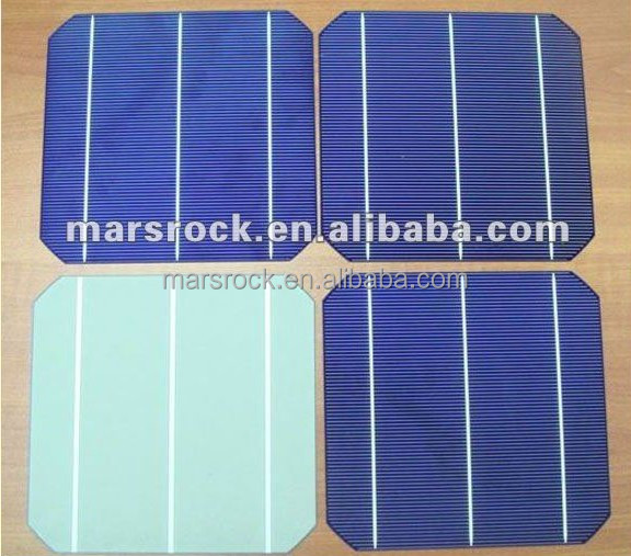 A Grade 4.3W Moncrystalline Silicon Solar Cells 156 x 156 for Solar Panels