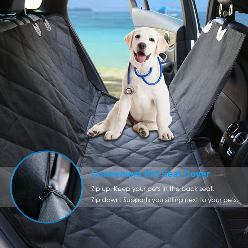 Hot Sell Pet Waterproof Fabric Car Seat Good Quality And Areful Fabric Dog Car Mat Seat Cover