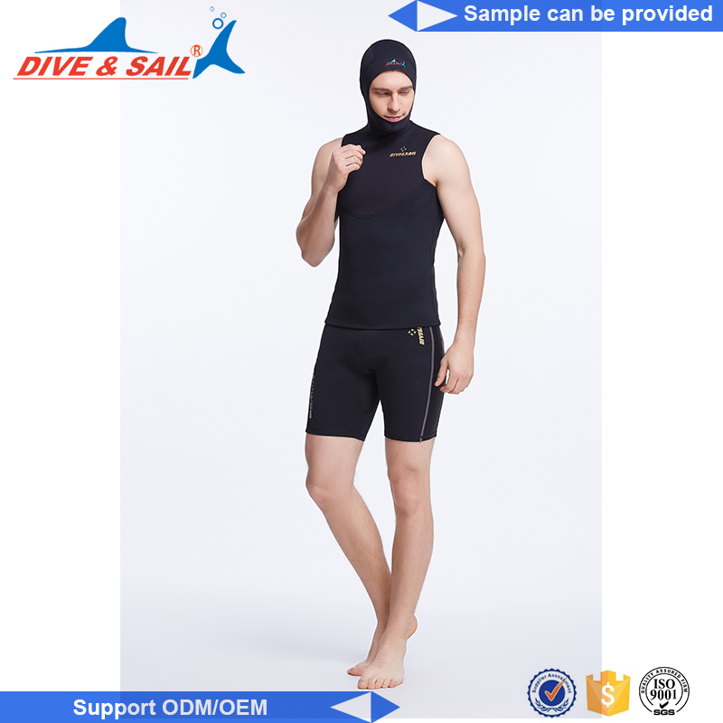 New Design neoprene diving/surfing sleeveless diving suits support price