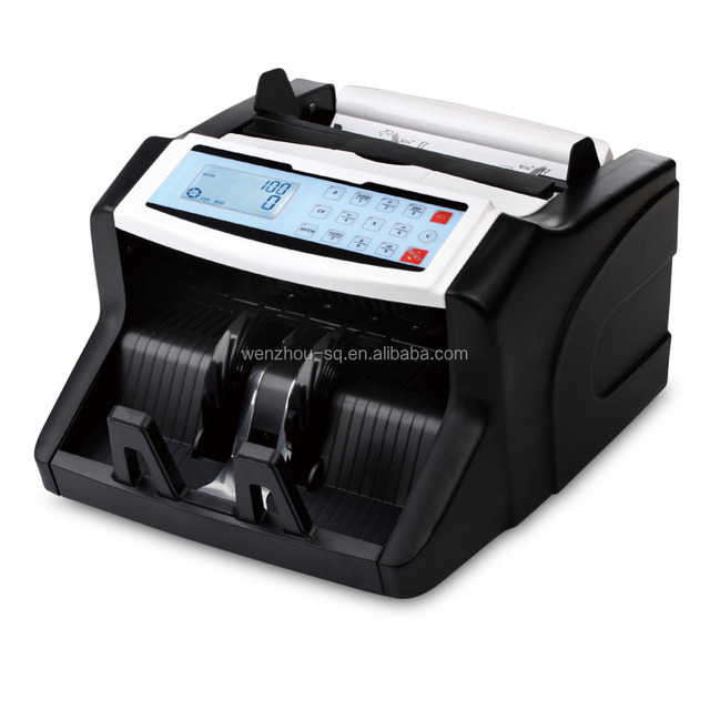 High Quality Money Counter with UV+MG+IR+DD+MT detection DMS-680T Suitable for Multi-Currency Banknote Counter From Wenzhou SQ
