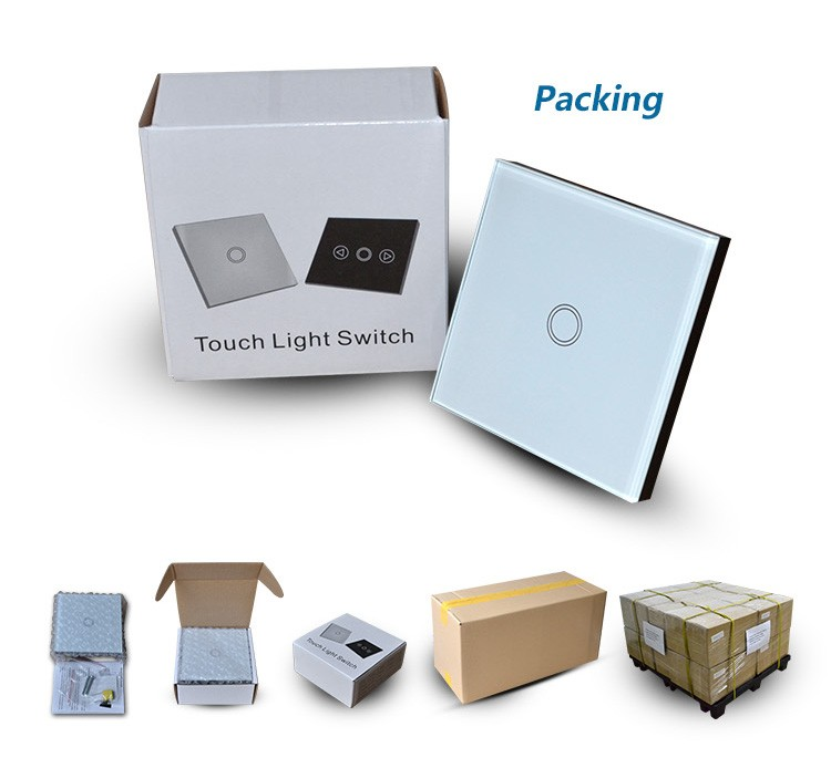 Smart Home Wifi Light Switch Touch Control Glass Panel Remote Control Wall  Switch 2GangSmart Home Wifi Light Switch Touch Control Glass Panel Remote  . Remote Control Outdoor Light Switch 1 Gang. Home Design Ideas