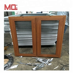 pvc wooden windows,pvc swing window casement window