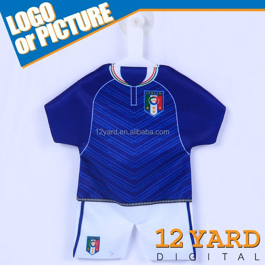 Best Selling Custom New Design T Shirt Jerseymini Soccer Jersey Car