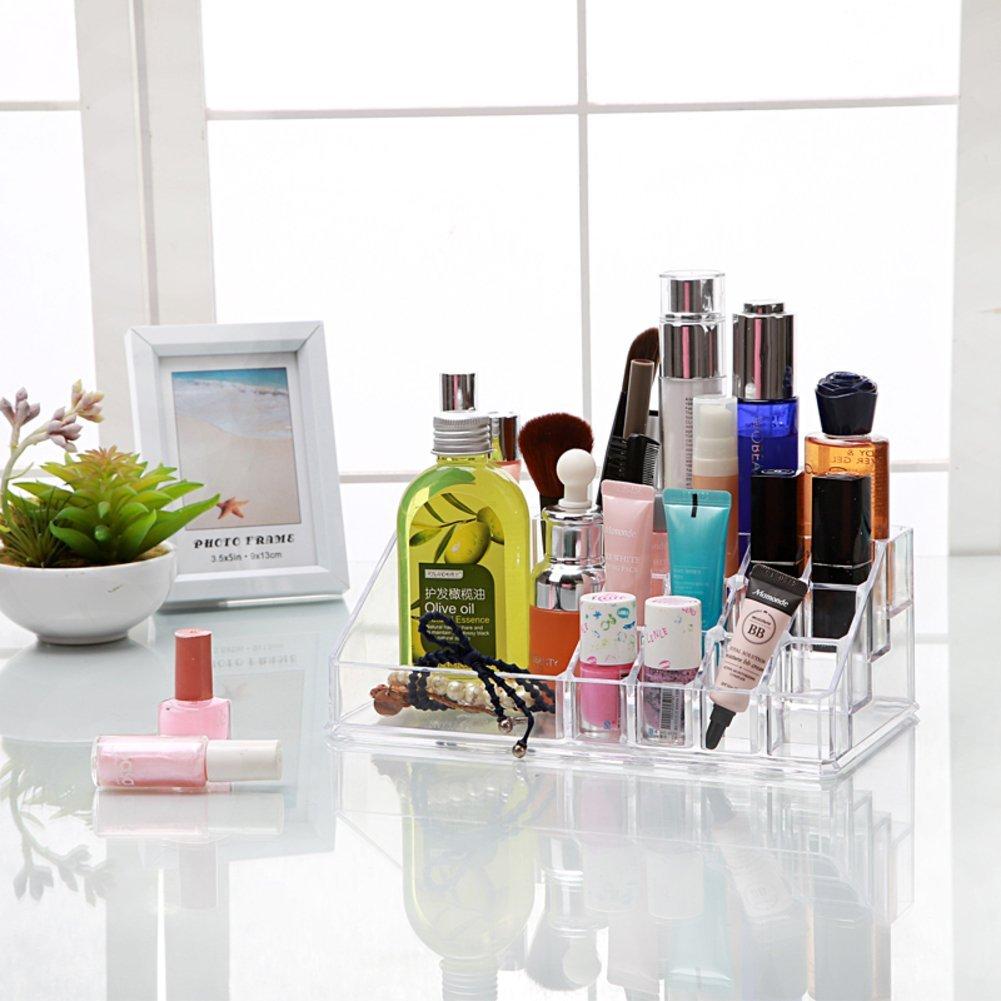 Desktop storage box/Transparent storage boxes for cosmetics/ plastic jewelry box/ jewelry box/Cosmetic box-A