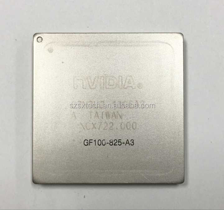 1 PCS nvidia GF100-825-A3 GF100 825 A3 BGA chip with ball tested Good Quality