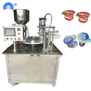 automatic cup coffee grease filling and sealing machine