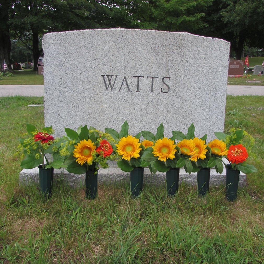 Cheap cemetery vases granite find cemetery vases granite deals on evelots set of 6 cemetery grave patriotic memorial veterans flower cone vases 7 reviewsmspy