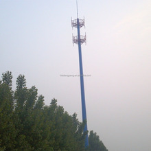 hot dip galvanized steel pipe 30m Single Tube Antenna Tower