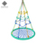 Dropship Hot sale & high quality children outdoor playground baby net swings for infants garden swing kids