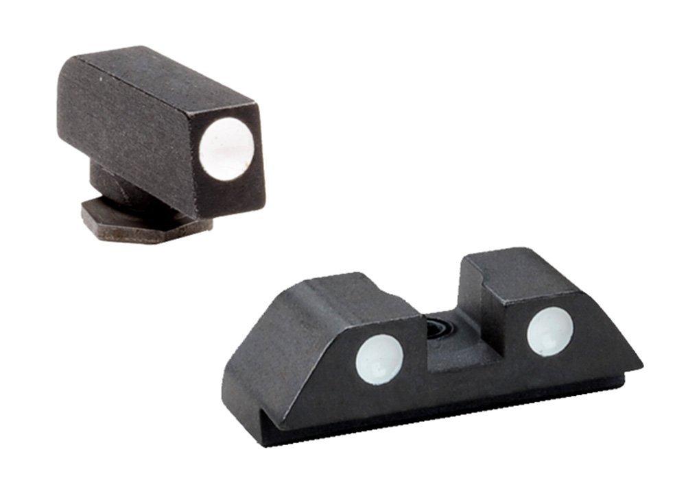"""Ultimate Arms Gear Pistol Handgun Painted Dot Gun Sight Set Glock 20 21 29 30 31 32 36 40 41 .272"""" Height Pro REAR, .165"""" Height .125"""" Width FRONT"""