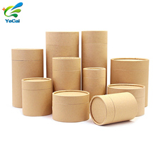 Design your own free sample kraft paper tube packaging , eco-friendly round carton cardboard box paper tube