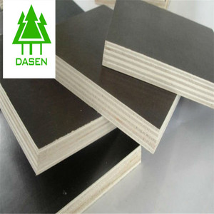 4x8 melamine board black plywood die board made in China