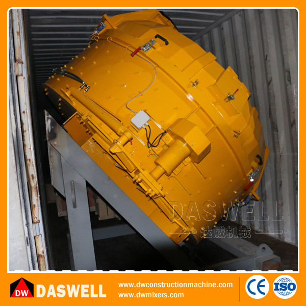 Daswell new design self loading small electric motor planetary concrete mixer