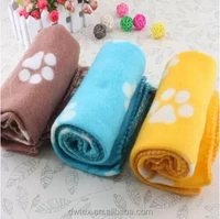 Pet Blanket Large For Dog Cat Animal Puppy Kitten Bed Warm Sleep Mat Fabric Indoors Outdoors
