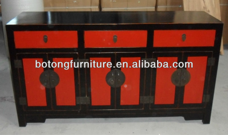 Antique reproduction chinese cupboard