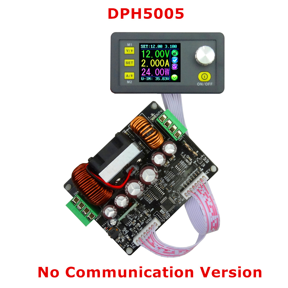 DPH5005 50V 5A Buck-boost converter Constant Voltage current Digital Control Constant Voltage current Power Supply voltmeter