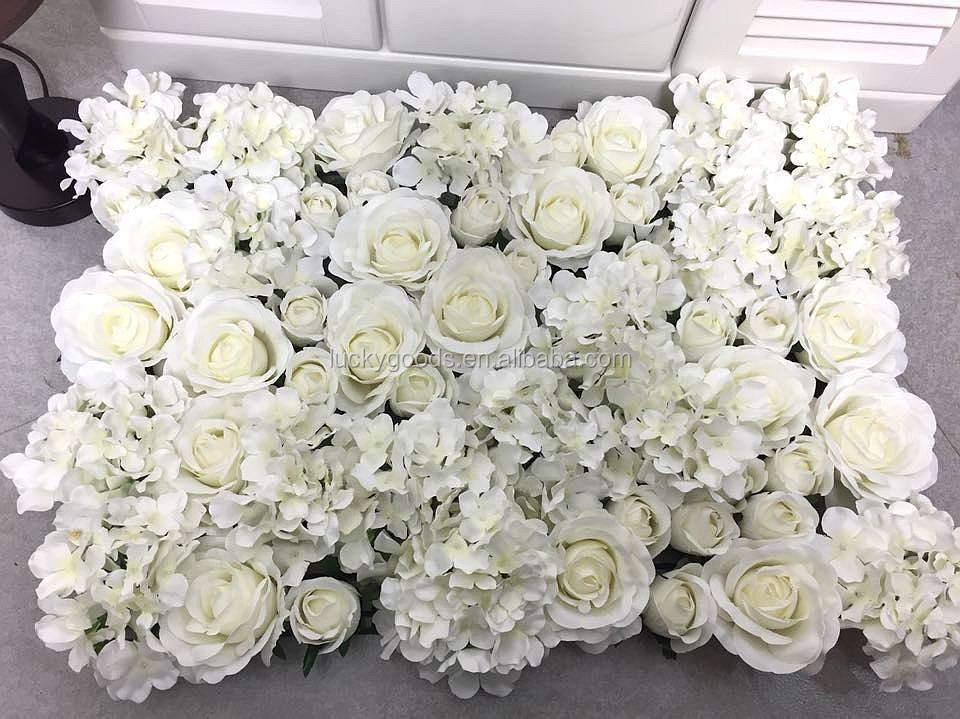 Wedding Favor Cream White Backdrop Artificial Decorative