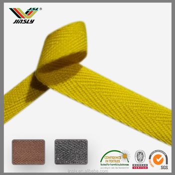 25mm Bag Handle Cotton Webbing Strap Woven Tape