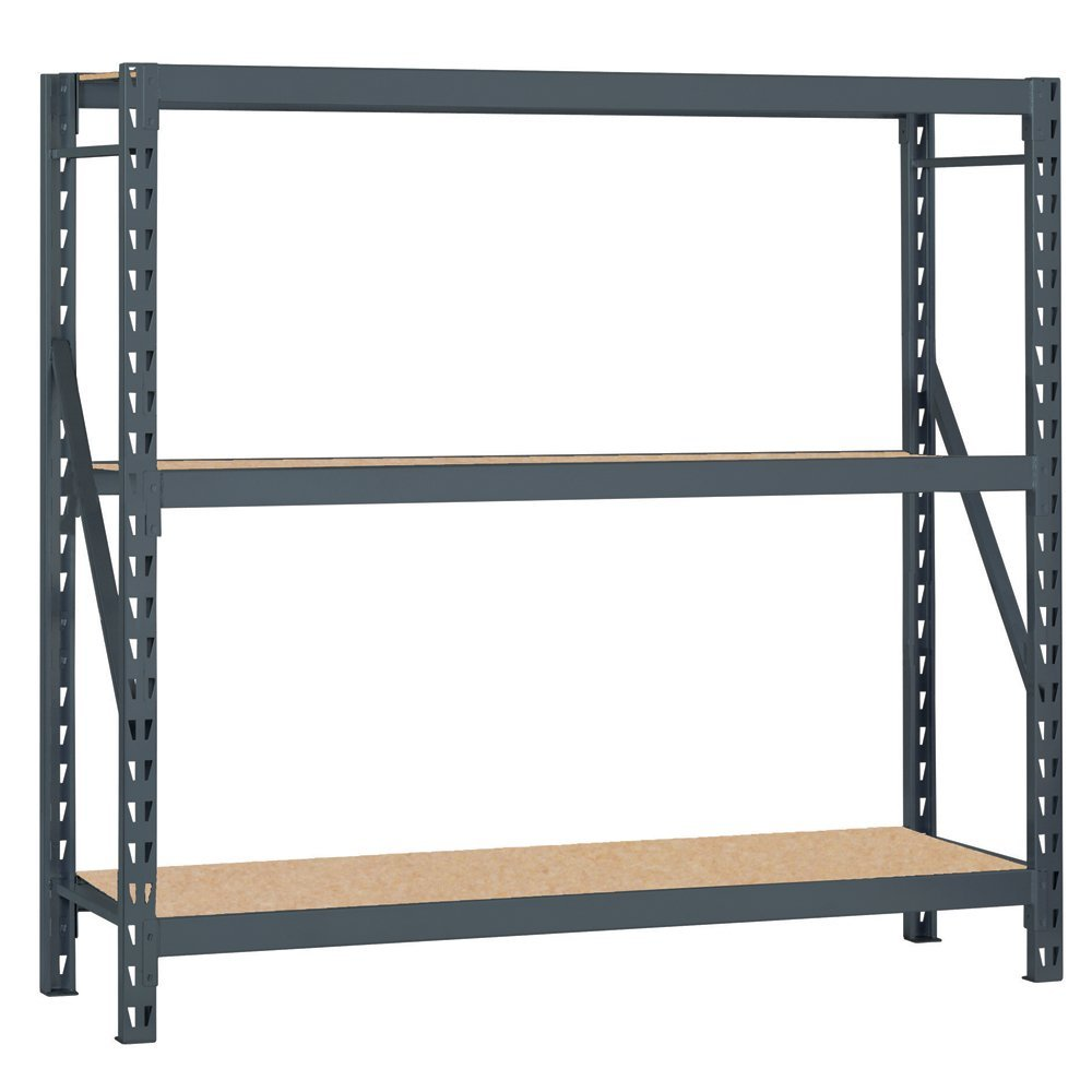 Buy Atlantic Metal 3043100 Bulk Rack With Welded Upright Frame 72 X ...