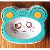 Fancy mouse shape custom melamine dog bowl