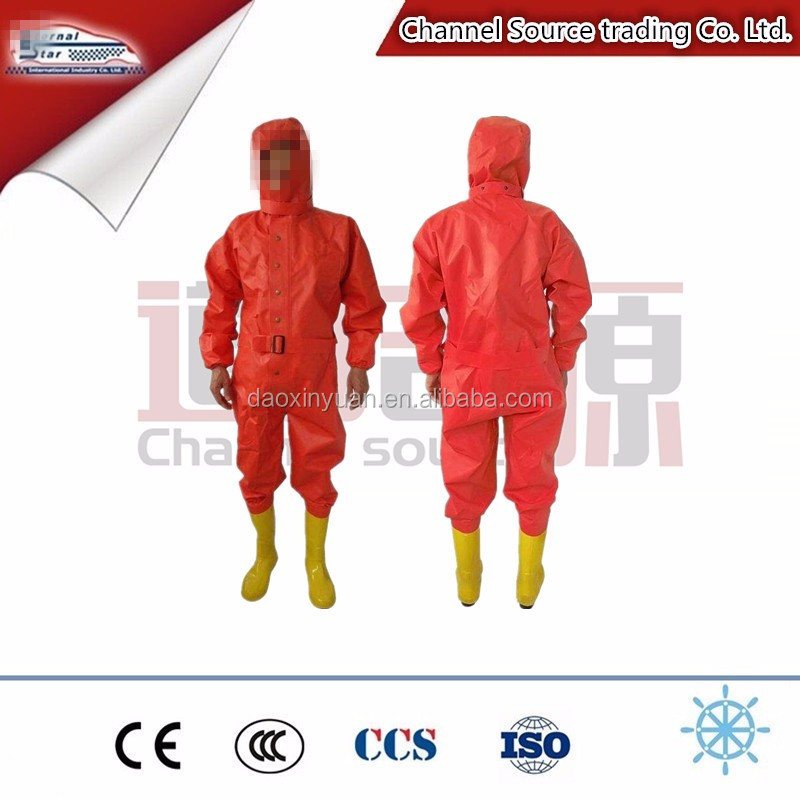 chemical protective body safety suit