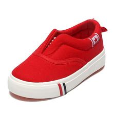 New arrival canvas upper flat soft rubber sole kids fashion footwear wholesale shoes