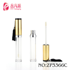 free sample round cosmetic lipgloss tube packaging with small capacity