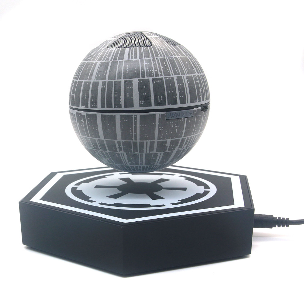 Death Star Portable Magnetic Floating Levitating Wireless Bluetooth Speaker