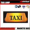 Custom advertisement magnetic taxi light top light led roof lamp