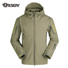 Esdy Heren Outdoor Sport Waterdichte Winter <span class=keywords><strong>Jacht</strong></span> Camping Militaire Stijl Tactical Jas Groene Kleur