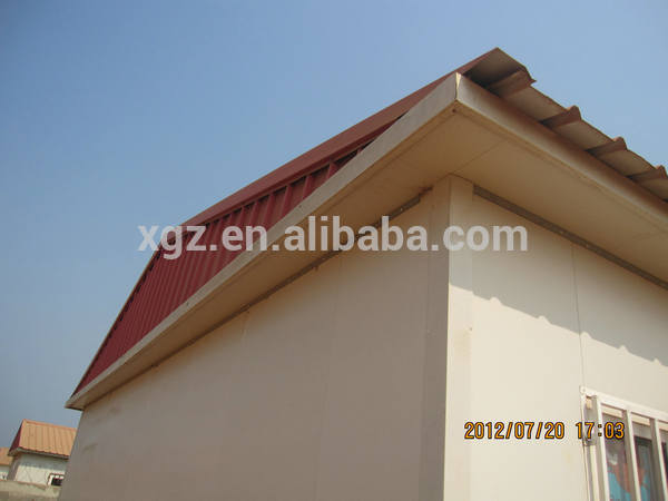 insulated portable prefab steel frame cabin