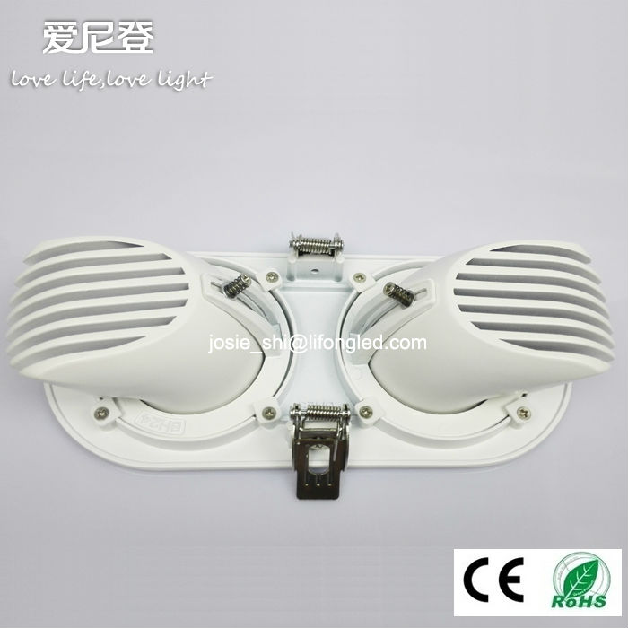 Commercial Cob Led Lamp Downlight 360 Degree Rotatable Gimbal ...