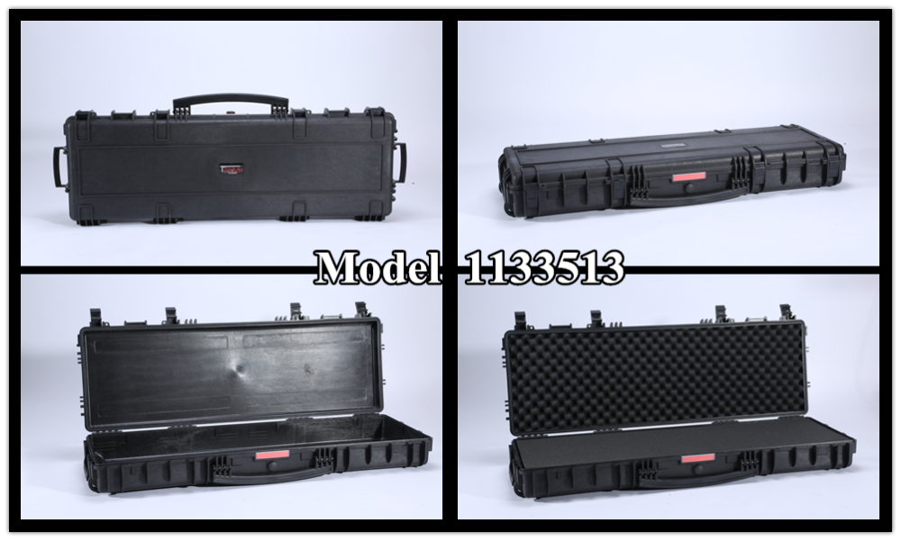 Model 1133513 Portable Waterproof Lockable Hard Plastic Gun Case ...