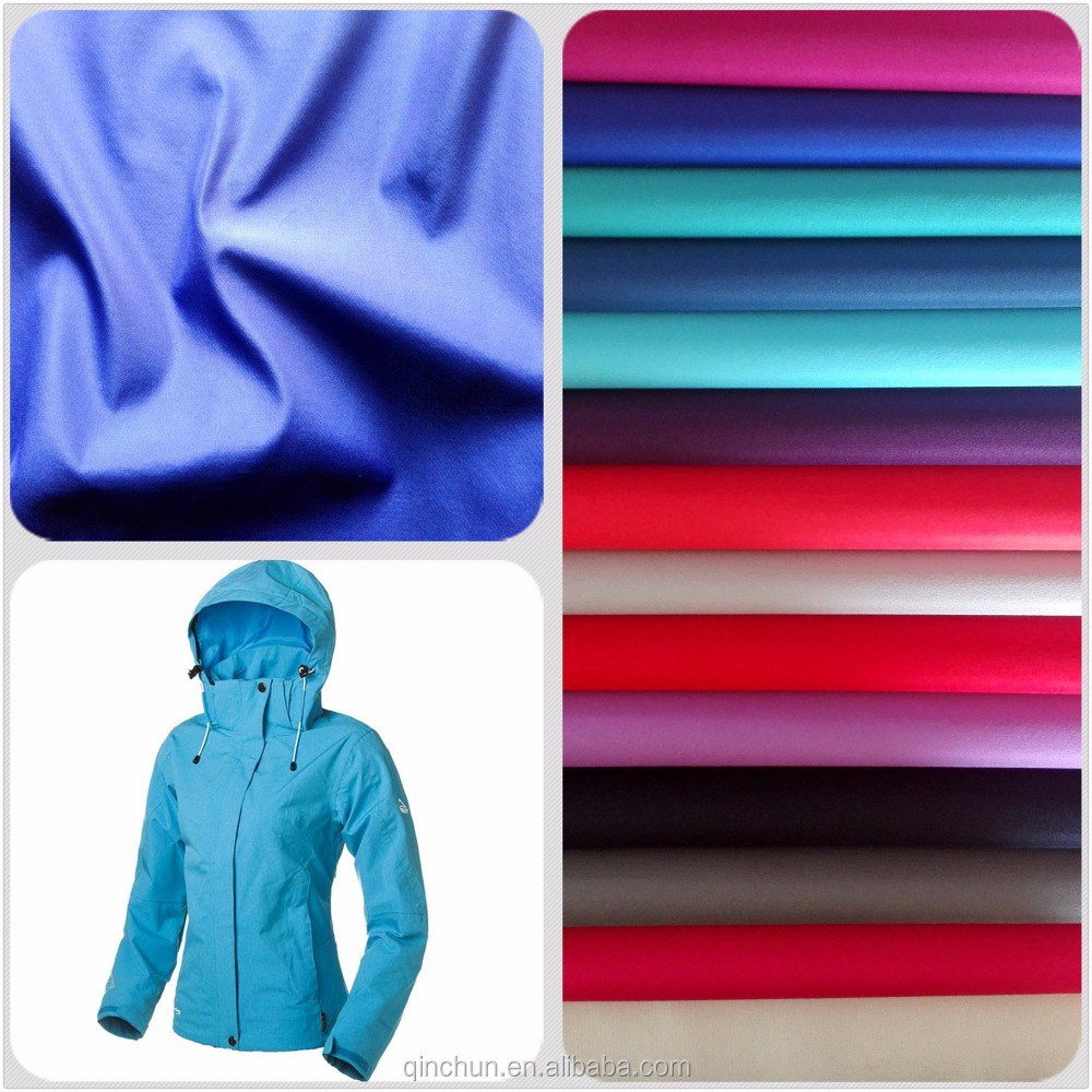 Hot Sell 290T 100% polyester suiting fabric, Jersey bonded knit fabric