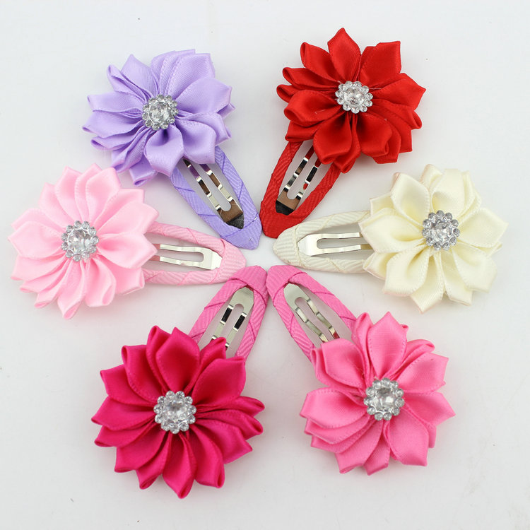 e9cb00f9b91ff Cheap Girls Flower Princess Hair Clip Kids Korean Stylish Hair Acessories  Hair Barrettes For Little Girls - Buy Types Of Hair Barrettes