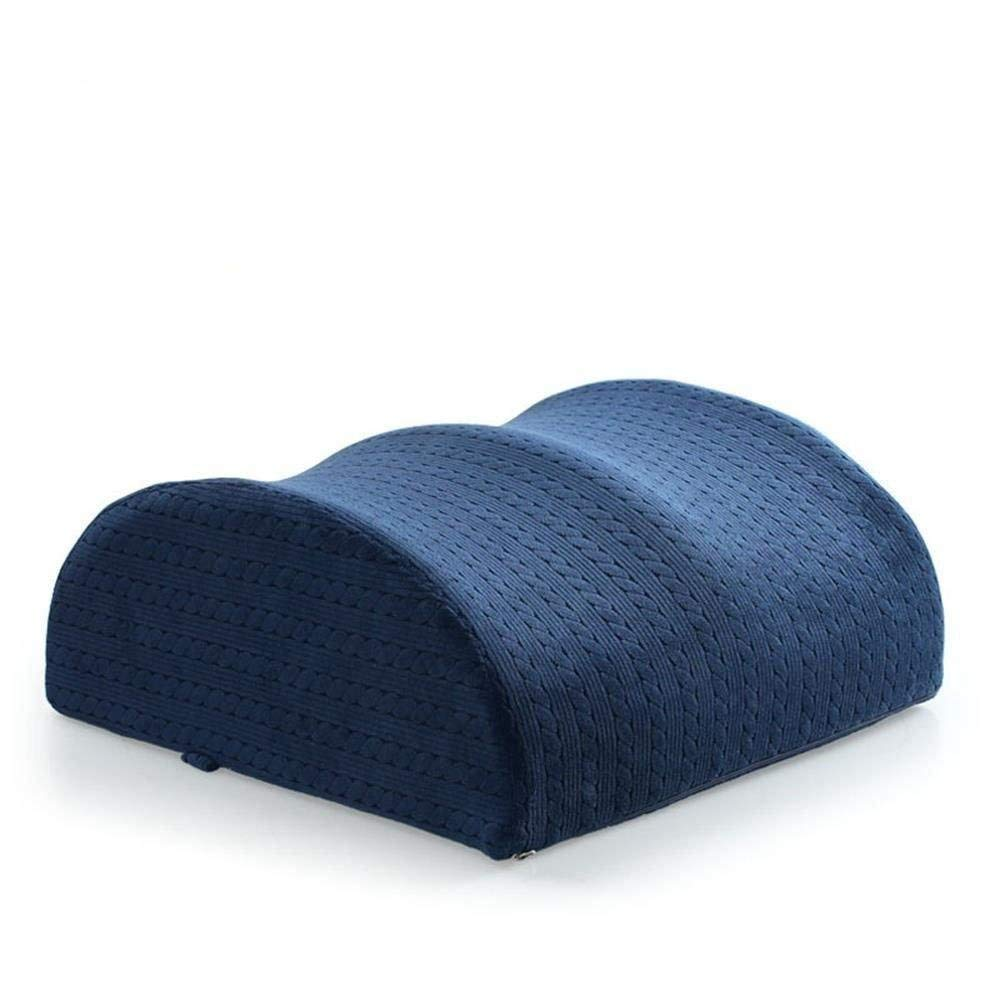 Leg Pillow Orthopedic Knee Pillow Back Lumbar Support Cushion for Sciatica Relief, Memory Foam Multi-function Rest Leg Back Neck Hip Pain with Removable Cover